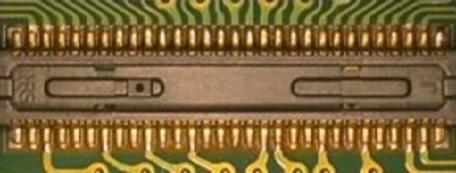 FPCへのコネクタの挟ピッチ実装