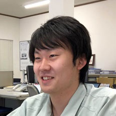 管理グループ生産管理チームKさんの写真